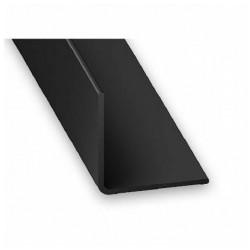 Angulo 15x15 - 1 m PVC negro