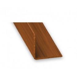Angulo 20x20 - 2.5 m PVC...