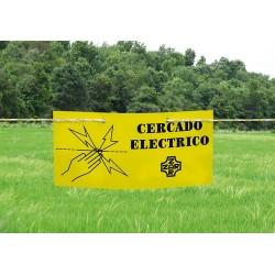 """Señal """"Cercado Electrico""""..."""