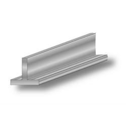 Perfil T 20x20 1 m aluminio...
