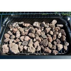 Carbon piedra volcanica...
