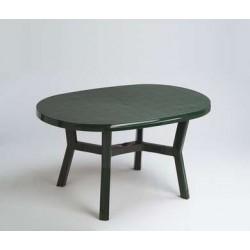Mesa jardin oval verde...