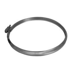 Abrazadera union tubo inox 80