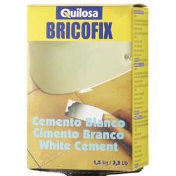 Cemento blanco 1.5 kg Bricofix