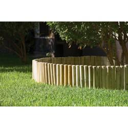 Bordura rollo madera 30x5x200