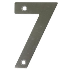 Numero inox 1.30x2.5 mm- 7