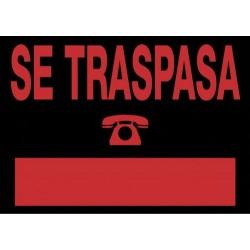 "Cartel ""SE TRASPASA"" Nº35..."
