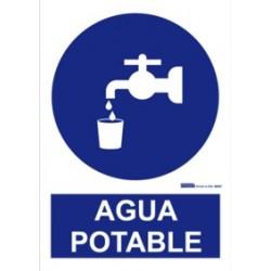 "Señal ""Agua Potable""..."