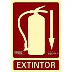 "Señal ""Extintor""..."