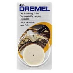 Disco pulir fieltro Dremel 429