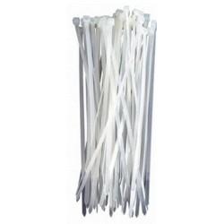 Brida nylon blanca 200x3.6...