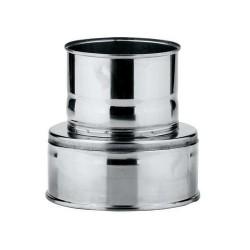 Adaptador tubo estufa inox...