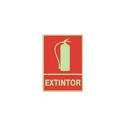 """Señal """"Extintor"""" 735 PVC..."""