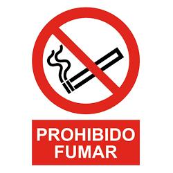 "Señal ""Prohibido Fumar""..."