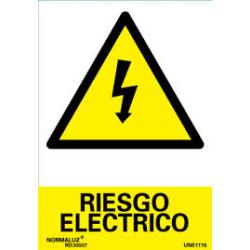 """Señal """"Riesgo Electrico""""..."""