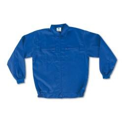 Cazadora algodon Basic azul...