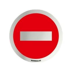 Placa simbolo inox...