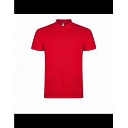 Polo Star rojo manga corta T-L