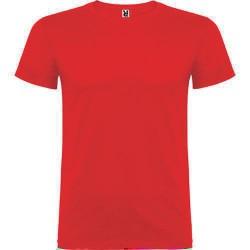 Camiseta Beagle rojo manga...