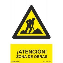 """Señal """"Atencion zona..."""