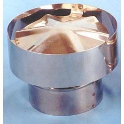 Sombrerete gases inox 120