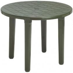 Mesa jardin redonda verde...
